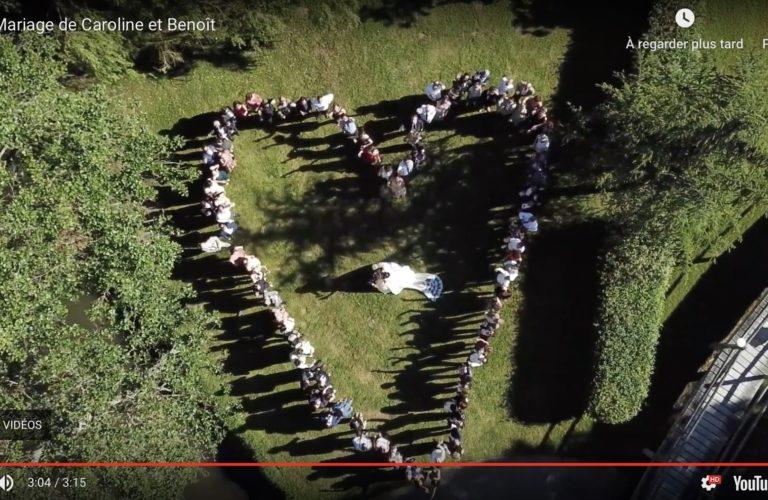 Vidéo teaser mariage de Caroline et Benoit